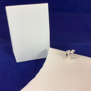 NWOT Pandora Sterling Silver Cheerful Cow Charm